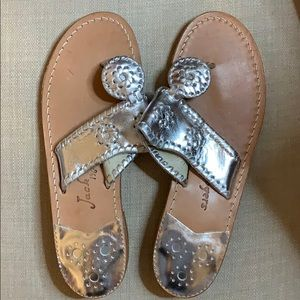 Brand new! Silver Jack Rogers sandals size 7